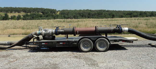 Westfall Static Mixer Model 3050 on location in Oklahoma