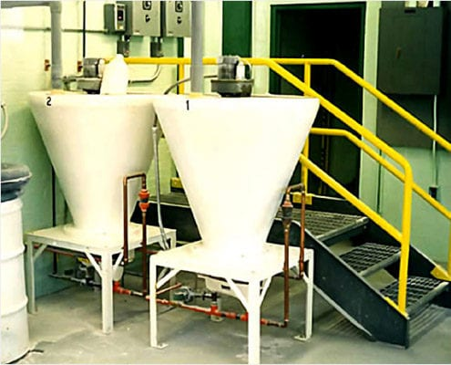 dry chemical feeder